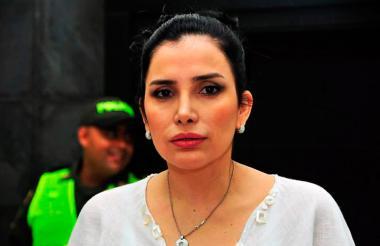 La excongresista Aida Merlano.