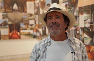 Simón Vélez, arquitecto colombiano que trabaja principalmente con la guadua.