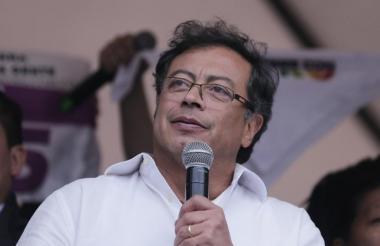 Gustavo Petro, actual senador y excandidato presidencial.