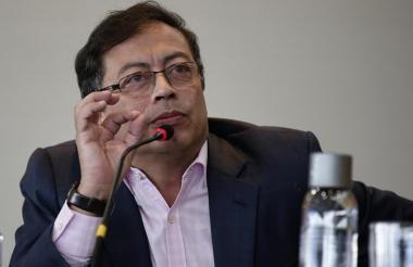 Gustavo Petro, senador y excandidato presidencal.
