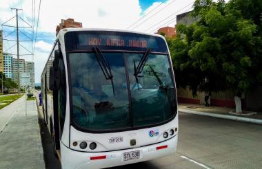 Transmetro dispondrá de varios buses para el transporte de los hinchas.