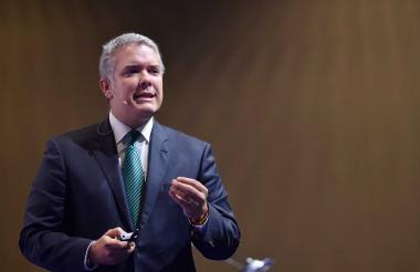 Presidente de la República, Iván Duque Márquez.