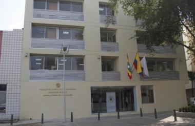 Fachada del complejo judicial de Cartagena.