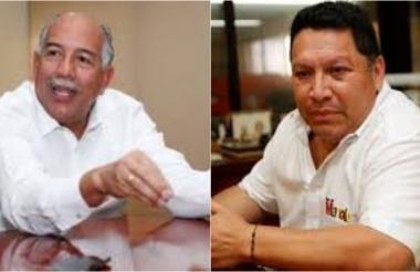 Germán Sierra Anaya y Manolo Duque.