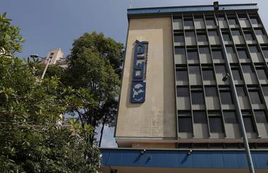 Fachada de las oficinas del Icetex en Bogotá.