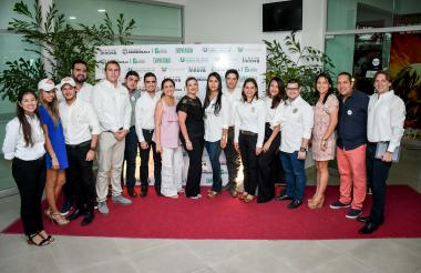 Representantes del Distrito y de las iniciativas empresariales que participaron en Quilla Innova.