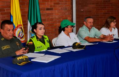 La mesa de trabajo contra el uso de la pólvora, en Sucre, invitó a los padres a estar atentos de sus hijos.