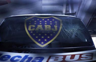 Bus de Boca Juniors.