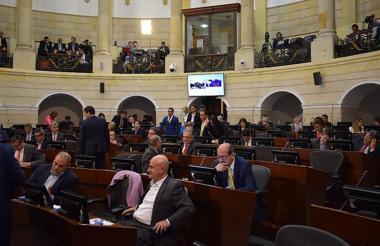 Las plenarias del Senado.