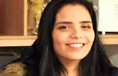 Melissa Martínez García, secuestrada.