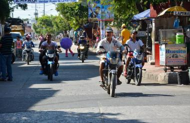 Sabanalarga registra más de 2.600 motocicletas, según el último censo del Tránsito Departamental.