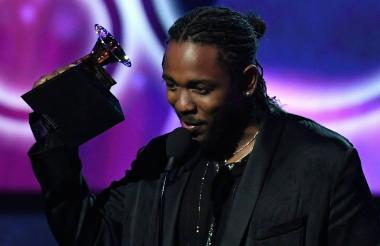 Kendrick Lamar recibió este año el Grammy por Mejor Álbum de Rap con su trabajo titulado DAMN.
