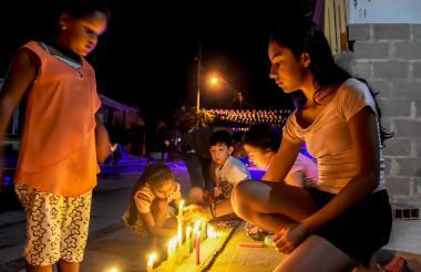 La Noche de Velitas es una de las fiestas decembrinas más tradicionales en Barranquilla.