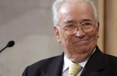 Belisario Betancur, expresidente de Colombia.