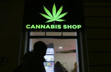 Una tienda de productos de Cannabis.