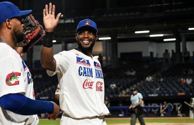 El dominicano Audy Ciriaco es uno de los bates más fuertes de la novena barranquillera. 'El Varón' ha pegado treinta imparables, siete dobles y ha impulsado 14 carreras en la actual temporada.