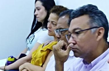 Los detenidos durante su legalización de captura.