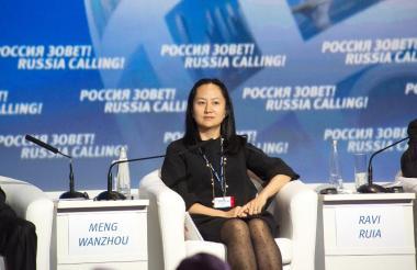 Meng Wanzhou, directora de Huawei.