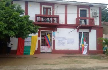 Sede de la alcaldía de Barranco de Loba.