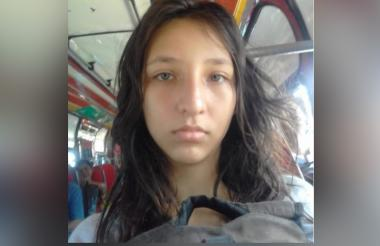 Sara Lucía Acosta Gómez, desaparecida.