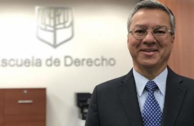 Leonardo Espinosa Quintero, el ternado que fue designado como fiscal ad hoc.