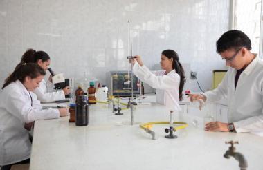Laboratorio donde se desarrollan proyectos de investigación en la Universidad Simón Bolívar.