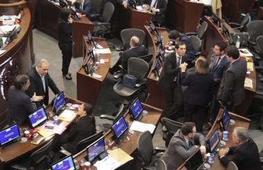 Plenaria del Senado sobre Ley de Financiamiento.