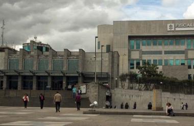 Edificio de la Fiscalía General de la Nación.