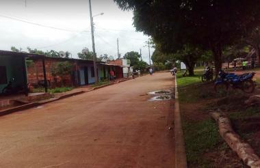 Imagen para ilustrar nota, sobre un sector del municipio de Mapiripán.