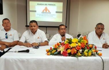 Miembros de Ademacor, Asociación de Maestros y Trabajadores de la Educación de Córdoba.