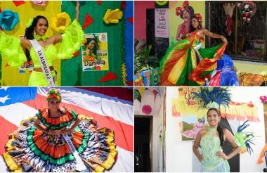 Reinas populares de los barrios, La Alboraya 2, Santuario 2, Pumarejo y La Alboraya 1.