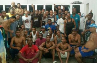 Colombianos presos en Venezuela.