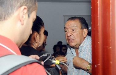 El presidente del Club Deportes Tolima, Gabriel Camargo.