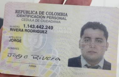 Jorge Rivera Rodríguez.