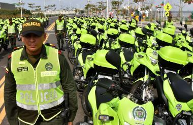 El pie de fuerza acompañará a los agentes de los 218 cuadrantes de seguridad de la ciudad.
