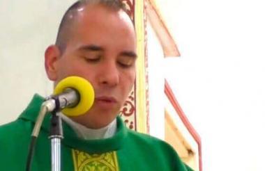 El falso párroco Miguel Ángel Ibarra.