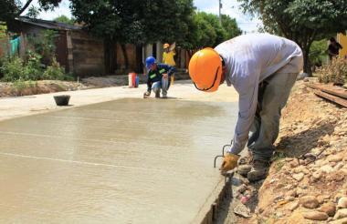 Obras de pavimentación se adelantarán en el perímetro urbano de La Jagua de Ibirico con el crédito que le fue autorizado a la Alcaldía.