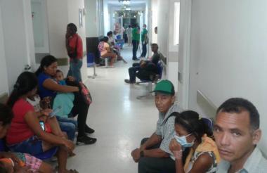 Centro de urgencias en Montelíbano, Córdoba.