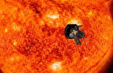 La sonda Parker es el objeto creado por el hombre que más se ha acercado al Sol.