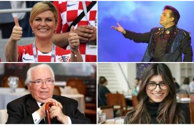 La presidente de Croacia, el fallecido cantante Juan Gabriel, el fallecido expresidente de Colombia Belisario Betancur y Mia Khalifa, fueron los protagonistas de las noticias falsas.