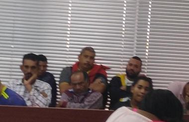 Audiencias de legalización de captura de 'los Pepes'.