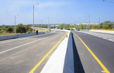 La Circunvalar de la Prosperidad, una obra que comunica a Barranquilla  con su área metropolitana.