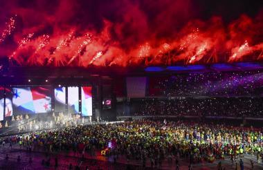 Clausura de los Juegos Centroamericanos y del Caribe Barranquilla 2018.