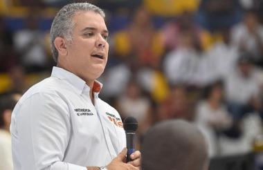 Presidente de Colombia, Iván Duque Márquez.