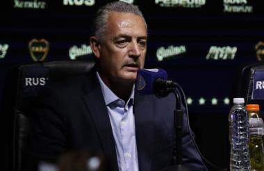 Gustavo Alfaro, entrenador de Boca Juniors.