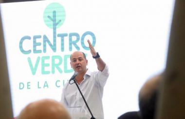 """El alcalde Pineda García dice que le apunta a una Montería """"más desarrollada""""."""