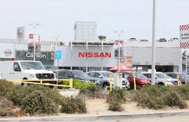 Sede de Nissan en California.
