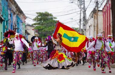 Carolina Segebre, reina del Carnaval 2018.