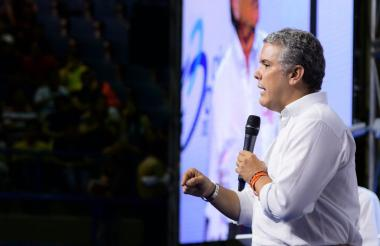Iván Duque, presidente de la República de Colombia.