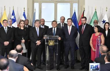 Reunión del Grupo de Lima en Perú.